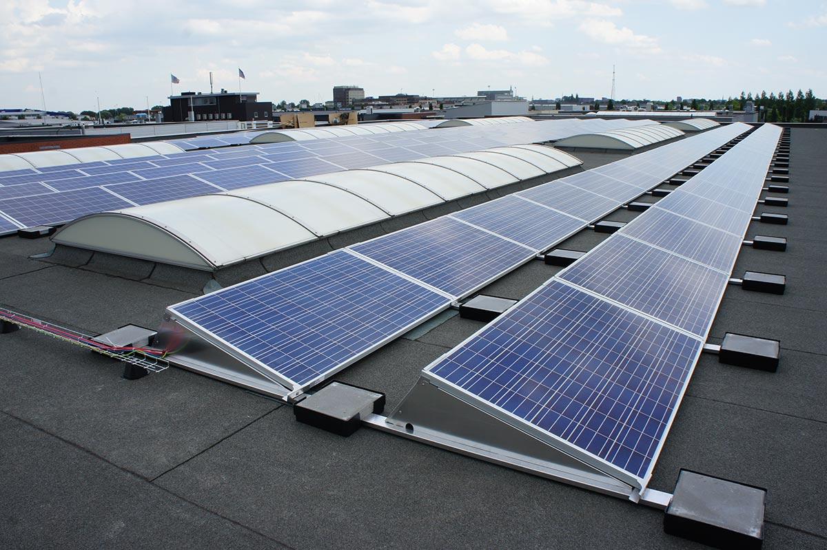 Trina Solar Installation